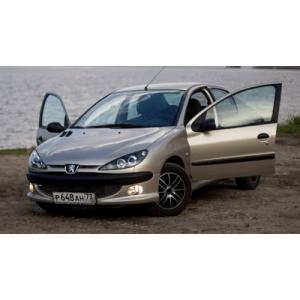 Автомобильные чехлы Peugeot из экокожи. Купить авточехлы ...